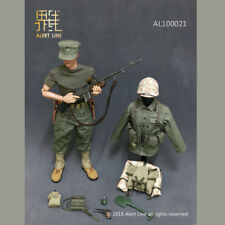 Alert Line AL100021 1/6 WWII USMC Browning Automatic Rifle (BAR) Gunner Set New
