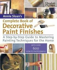 Complete Book of Decorative Paint Finishes-ExLibrary