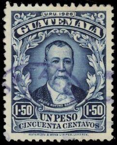 GUATEMALA 224 - President Justo R. Barrios (pf7815)