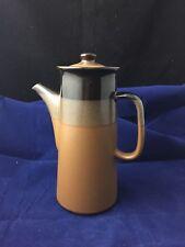 Vintage 1970's Vila Stoneware Coffee Pot Made in Korea