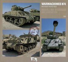 Verlinden Book WarMachines No.4 Israeli M4 Sherman 555