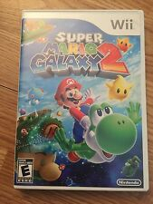 Mario Galaxy 2 Nintendo Wii Cib Game Tested Works NG2