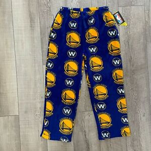 UNK Youth Large 14/16 Golden State Warriors Pajama Pants Genuine NBA Apparel