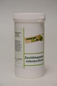 Zeolithamin Gesteinspulver Zeolith 370 Kapsel Montmorillonit 10-15µm Heilerde