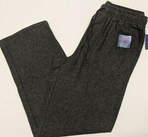 CROFT & BARROW BRUSHED FLANNEL LOUNGE SLEEP PANTS - Men's Medium M NWT