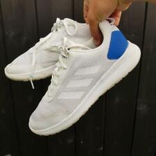 Adidas Para Hombre Zapatos de entrenamiento de carrera elemento cf UK 9 con Cordones Blanco DB1457