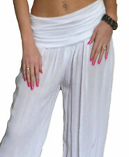Ladies Harem Pants Trousers Ali Baba Baggy Boho Hareem Size 8 10 12 14