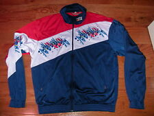 Vintage Rukka Track Jacket red white blue zip-up rare logo 194