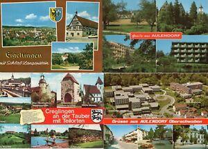 Baden-Württemberg - Ansichtskarten - AK - Postkarten - Sammlung - Konvolut (867)