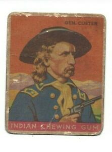 1933 Goudey - Indian Chewing Gum - General George Custer (#55)