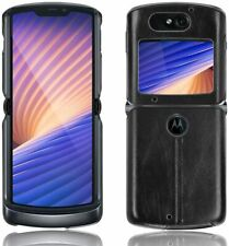 Luxury Motorola Razr 5G Custodia PU Pelle ANTI-GRAFFIO ANTIURTO COVER RIGIDA
