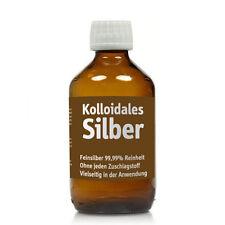 Kolloidales Silber, Silberwasser, 250ml, 25-100ppm, Apotheker-Glasflasche