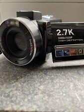 Camcorder 2,7K mit Zubehörpaket