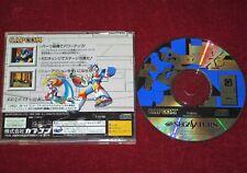 Sega Saturn Game ROCKMAN X3 NTSC-J Japan Import JPN Megaman Mega Rock Man