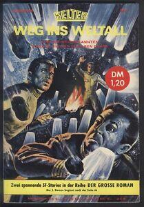 Weg ins Weltall Sonderband Nr.9 von 1967 Sammelband mit Ren Dhark Nr.48 + 49 TOP