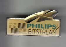 RARE PINS PIN'S .. INFORMATIQUE COMPUTER AUDIO CD MUSIQUE BITSTREAM PHILIPS ~DA