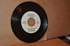 THE CONCORDS: MY DREAMS & SCARLET RIBBONS; GRAMERCY VG++ W.L. PROMO DOO WOP 45