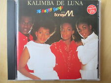 Boney M. - 16 Happy Songs - Kalimba De Luna - CD TOP - Sanyo Japan