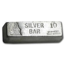 10 oz Silver Bar - CMI - SKU #34753