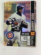 2002 MLB Showdown Sammy Sosa Foil #071 Chicago Cubs
