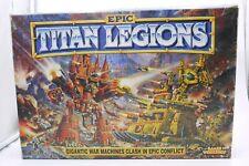 VINTAGE 1994 Epic 40k Warhammer TITAN LEGIONS BOARD GAME #0353 95% COMPLETE