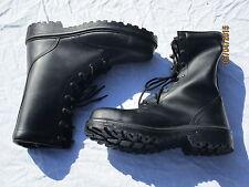 Stivali di sicurezza, neri boots, Double Duty, Tg. 9 M (43)