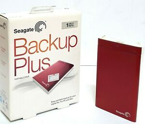 Seagate Backup Plus 1TB Portable Storage USB 3.0 External Drive Thailand ~ryok99