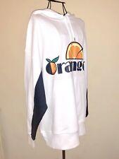 D-ANTIDOTE *Orange* Hoodie Sweatshirt SMALL Unisex Korean Street Style, $195 NWT