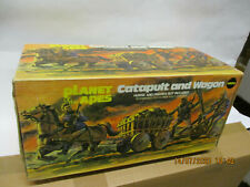 Planet of the Apes-catapult and Wagon mego OVP