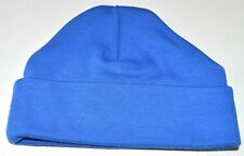 NEW Blue beanie 100% cotton baby hat 0-3mnth