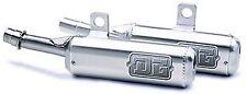 DG Yamaha Banshee 350 Type II Oval Silencer Set; 20-4311