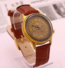 Poljot Alarm's & Vibrates USSR Soviet mechanical men's wristwatch Cal. 2612.1