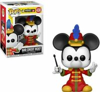 FUNKO POP! DISNEY: Mickey's 90th - Band Concert Mickey [New Toys] Vinyl Figure