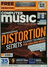 Computer Music Professional Distortion Secrets Mixes April 2016 FREE SHIPPING JB