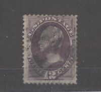 USA 1870 12c Purple Clay SG153 Fine Used JK1007