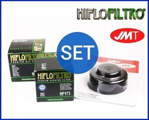 2x Hiflo Filtro Aceite HF975 Llave de Suzuki An 650Z Burgman Ejecutivo ABS