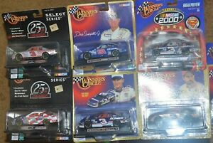 6X WINNERS CIRCLE Dale Earnhardt & JR 1:43 Scale NASCAR Cars Goodwrench Sikkens