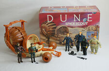 Vintage LJN DUNE Spice Scout and Figure Lot with Weapons and Cards - 1984 RARE