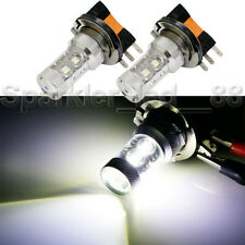 Xenon White 50W H15 CREE LED Bulbs For Audi BMW Mercedes VW For Daytime Lights