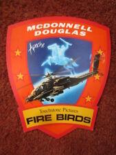 STICKER MCDONNELL DOUGLAS APACHE TOUCHSTONE PICTURES FIRE BIRDS NICOLAS CAGE