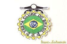 "Aufnäher ""Vespa Clube do Brasil"" - Klub Brasilien V50 PK PX GL GT Piaggio Patch"