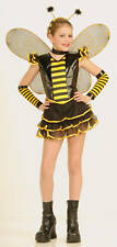 QUEEN BEE INSECT COSTUME w/ WINGS CHILD HALLOWEEN COSTUME GIRLS SIZE LARGE 12-14
