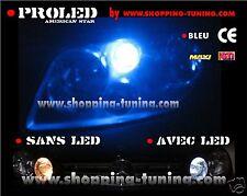 2 VEILLEUSE LED W5W BLEU VW GOLF POLO LUPO TOURAN