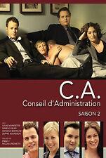 C. A.: Conseil d'administration: Saison 2 (DVD, 2008, 3-Disc Set, Canadian)