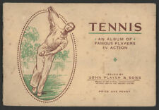 1930s John Player & Sons TENNIS Card Album w/All Cards