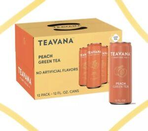 Teavana Craft Peach Iced Natural Green Tea with Lemongrass, Mint, Peach Flavo...