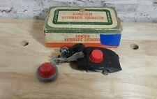 SINGER AUTOMATIC ZIGZAGGER 301  Vintage 1950's Crafts -