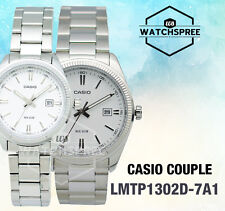 Casio Couple Watch LTP1302D-7A1 MTP1302D-7A1