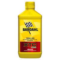 1 LITRO ACEITE MOTOR PARA MOTO 4t Bardahl Bardhal XTC C60 10W40 FULLERENO