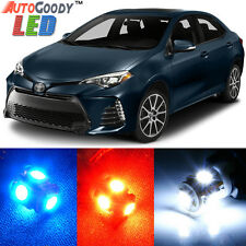 8 x Premium Xenon White LED Lights Interior Package Kit for Toyota Corolla +Tool